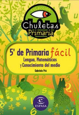 CHULETAS PARA 5 º DE PRIMARIA