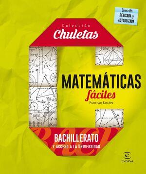 CHULETAS MATEMATICAS FACIL BACHILLERATO