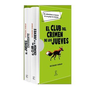 ESTUCHE EL CLUB DEL CRIMEN DE LOS JUEVES + EL JUEVES SIGUIENTE