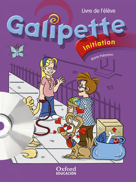 GALIPETTE INITIATION. PACK LIVRE DE L'ÉLÈVE + CD-MULTIROM