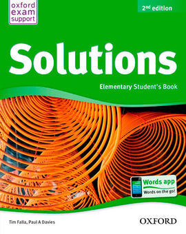 SOLUTIONS ELEMENTARY STUDENT'S BOOK PACK 2ª EDICIÓN