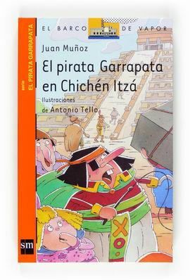 EL PIRATA GARRAPATA EN CHICHÉ ITZÁ