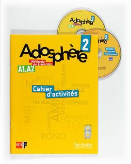 ADOSPHÈRE. 2 ESO. CAHIER D'ACTIVITÉS