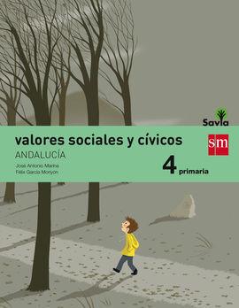 VALORES SOCIALES CIVICOS 4 (ANDALUCIA)