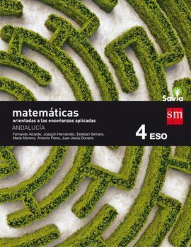 MATEMATICAS APLICADAS 4ºESO A ANDALUCIA 16 SAVIA