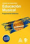 CUERPO DE MAESTROS, EDUCACIÓN MUSICAL. PROGRAMACIÓN