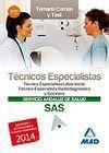 TÉCNICOS ESPECIALISTAS DEL SERVICIO ANDALUZ DE SALUD. TEMARIO COMÚN Y TEST 2014