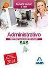 TEMARIO COMÚN ADMINISTRATIVO DEL SERVICIO ANDALUZ DE SALUD 2014