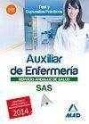 TEST Y SUPUESTOS AUXILIAR DE ENFERMERIA SERVICIO ANDALUZ DE SALUD 2014