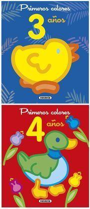 PRIMEROS COLORES 3-4 AÑOS SURTIDOS