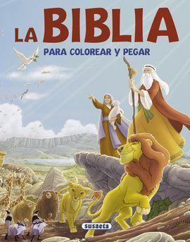 LA BIBLIA PARA COLOREAR Y PEGAR