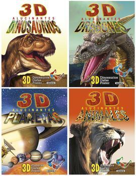 3D ALUCINANTES SURTIDOS