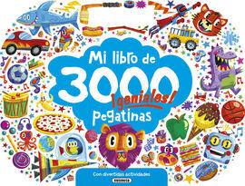 MI LIBRO DE 3000 PEGATINAS GENIALES! CON DIVERTIDAS ACTIVIDADES