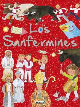LOS SANFERMINES CON PEGATINAS