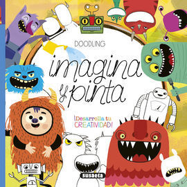 DOODLING IMAGINA Y PINTA