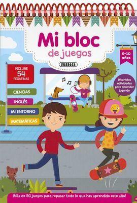 MI BLOC DE JUEGO 9-10 AÑOS