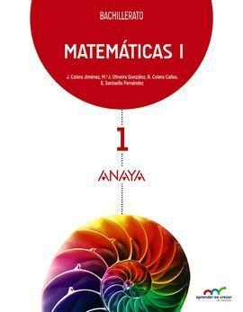 MATEMÁTICAS I. 1 BACHILLERATO