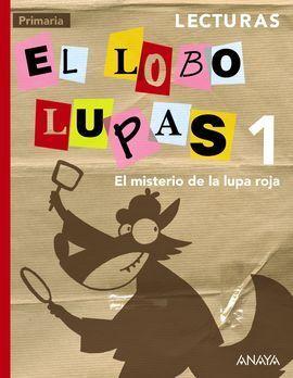 LECTURAS 1: EL MISTERIO DE LA LUPA ROJA.