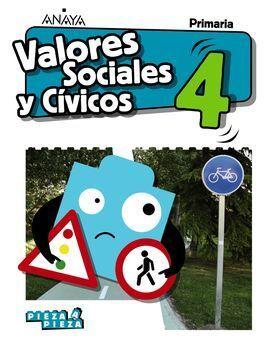 VALORES SOCIALES Y CÍVICOS 4ºPRIMARIA.