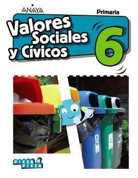 VALORES SOCIALES CIVICOS 6ºPRIMARIA