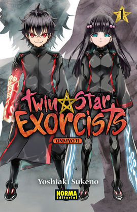 TWIN STAR EXORCISTS: ONMYOUJI 01