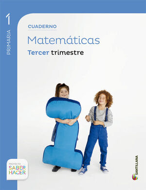 CUADERNO MATEMATICAS 1 PRIMARIA 3º TRIMESTRE