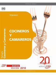 COCINEROS Y CAMAREROS. TEMARIO