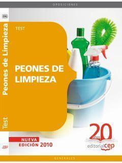 PEONES DE LIMPIEZA. TESTS