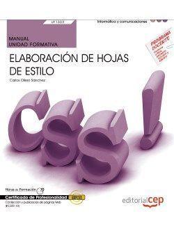 MANUAL. ELABORACIÓN DE HOJAS DE ESTILO (UF1303/MF0950_2)