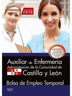 AUXILIAR DE ENFERMERÍA. ADMINISTRACIÓN DE LA COMUNIDAD DE CASTILLA Y LEÓN. BOLSA