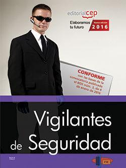 VIGILANTES DE SEGURIDAD. TEST