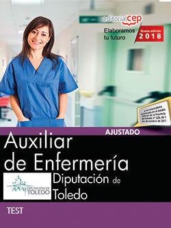 AUXILIAR DE ENFERMERÍA. DIPUTACIÓN DE TOLEDO. TEST