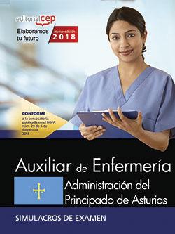 AUXILIAR DE ENFERMERÍA. ADMINISTRACIÓN DEL PRINCIPADO DE ASTURIAS. SIMULACROS DE