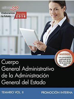 CUERPO GENERAL ADMINISTRATIVO DE LA ADMINISTRACIÓN GENERAL DEL ESTADO (PROMOCIÓN