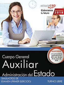 AUXILIAR ADMINISTRATIVO SIMULACROS DE EXAMEN