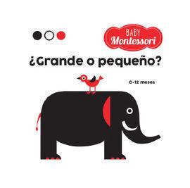 BABY MONTESSORI ¿GRANDE O PEQUEÑO? VVKIDS)