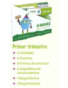 PROYECTO INFANTIL GOGUIS 4 AÑOS 1 TRIMESTRE