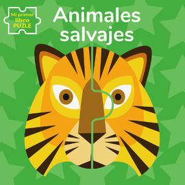 ANIMALES SALVAJES. MI PRIMER LIBRO PUZLE (VVKIDS)