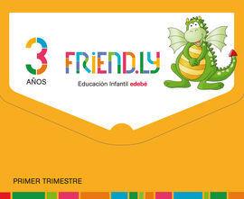 FRIENDLY 3 AÑOS 1º TRIMESTRE CASTELLANO