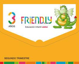 FRIENDLY 3 AÑOS 2º TRIMESTRE CASTELLANO