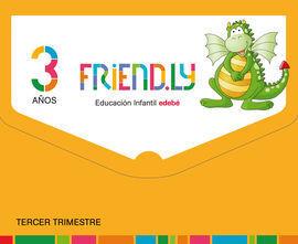 FRIENDLY 3 AÑOS 3º TRIMESTRE CASTELLANO