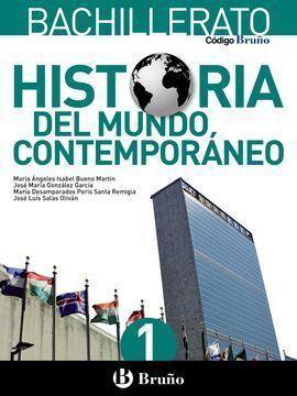 CODIGO BRUÑO HISTORIA DEL MUNDO CONTEMPORANEO BACHILLERATO