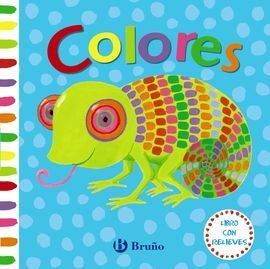 LIBRO CON RELIEVES. COLORES