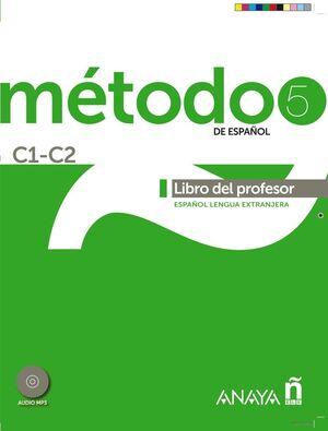 MÉTODO 5 ANAYAELE  LIBRO DEL PROFESOR C1-C2