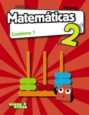 MATEMÁTICAS 2. CUADERNO 1.