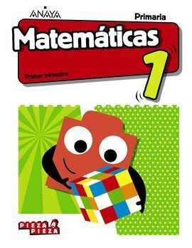 MATEMÁTICAS 1ºPRIMARIA. PIEZA A PIEZA + TALLER RESOLUCIÓN PROBLEMAS. ANDALUCÍA 2