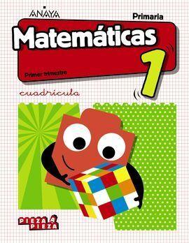 MATEMÁTICAS 1. CUADRÍCULA. (INCLUYE TALLER DE RESOLUCIÓN DE PROBLEMAS).