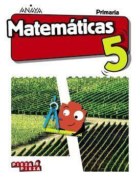 MATEMÁTICAS 5. (INCLUYE TALLER DE RESOLUCIÓN DE PROBLEMAS)