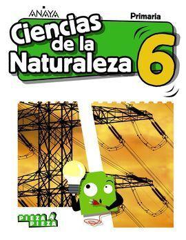 CIENCIAS DE LA NATURALEZA 6ºPRIMARIA