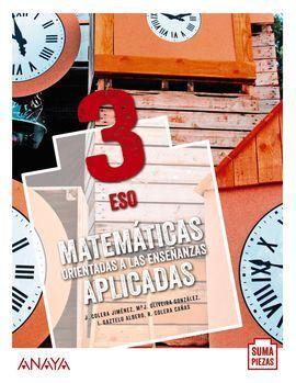 MATEMÁTICAS ORIENTADAS A LAS ENSEÑANZAS APLICADAS 3. (COLEGIOS BILINGÜES)